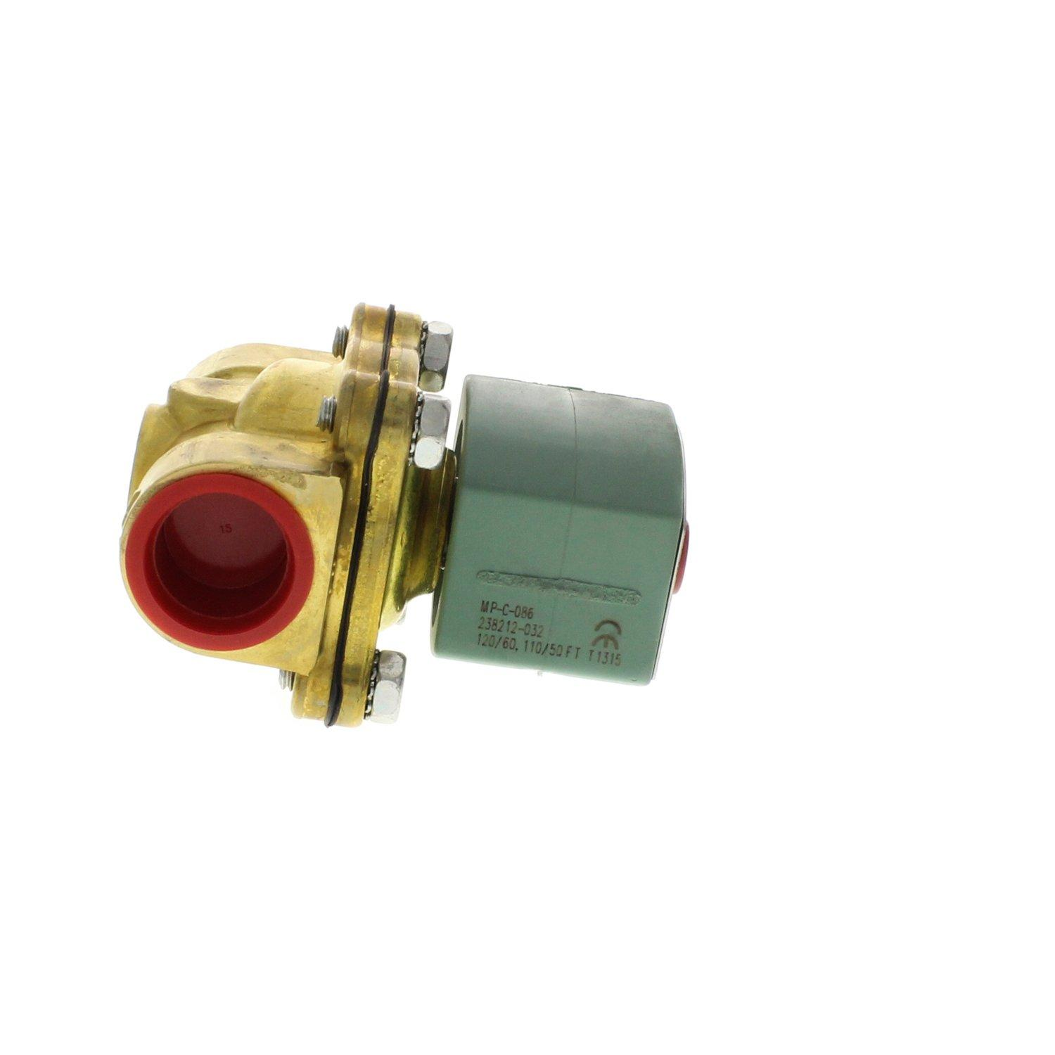 CLEVELAND WATER SOLENOID;3/4 125# BRASS #OFSF8210