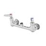 "T&S BRASS 8"" WALL MOUNT MIXING FAUCET W/"