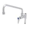 T&S BRASS ADD-ON FAUCET, CERAMA CARTRIDG