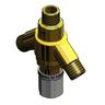T&S BRASS THERMOSTATIC MIXING VALVE W/ 1