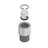 T&S BRASS CHECK VALVE ADAPTER W/ CHECK V
