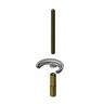 T&S BRASS SINGLE POST MOUNTING KIT: 1/4-