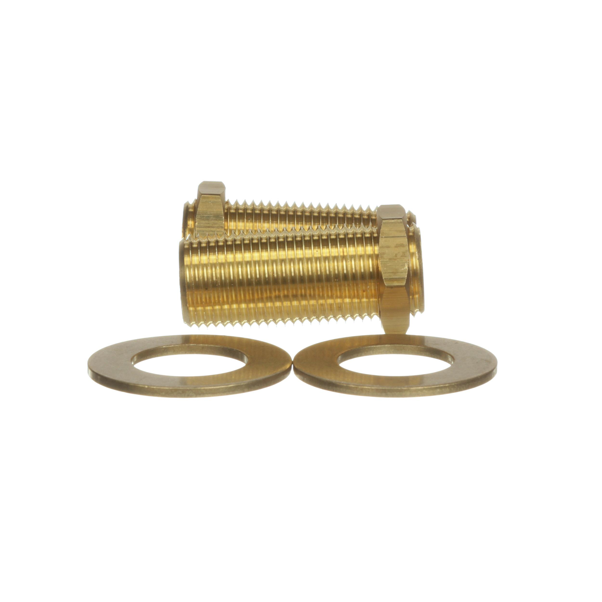 "T&S BRASS SUPPLY NIPPLE KIT, 1/2"" NPT X"
