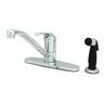 "T&S BRASS SINGLE LEVER FAUCET, 48"" SIDES"
