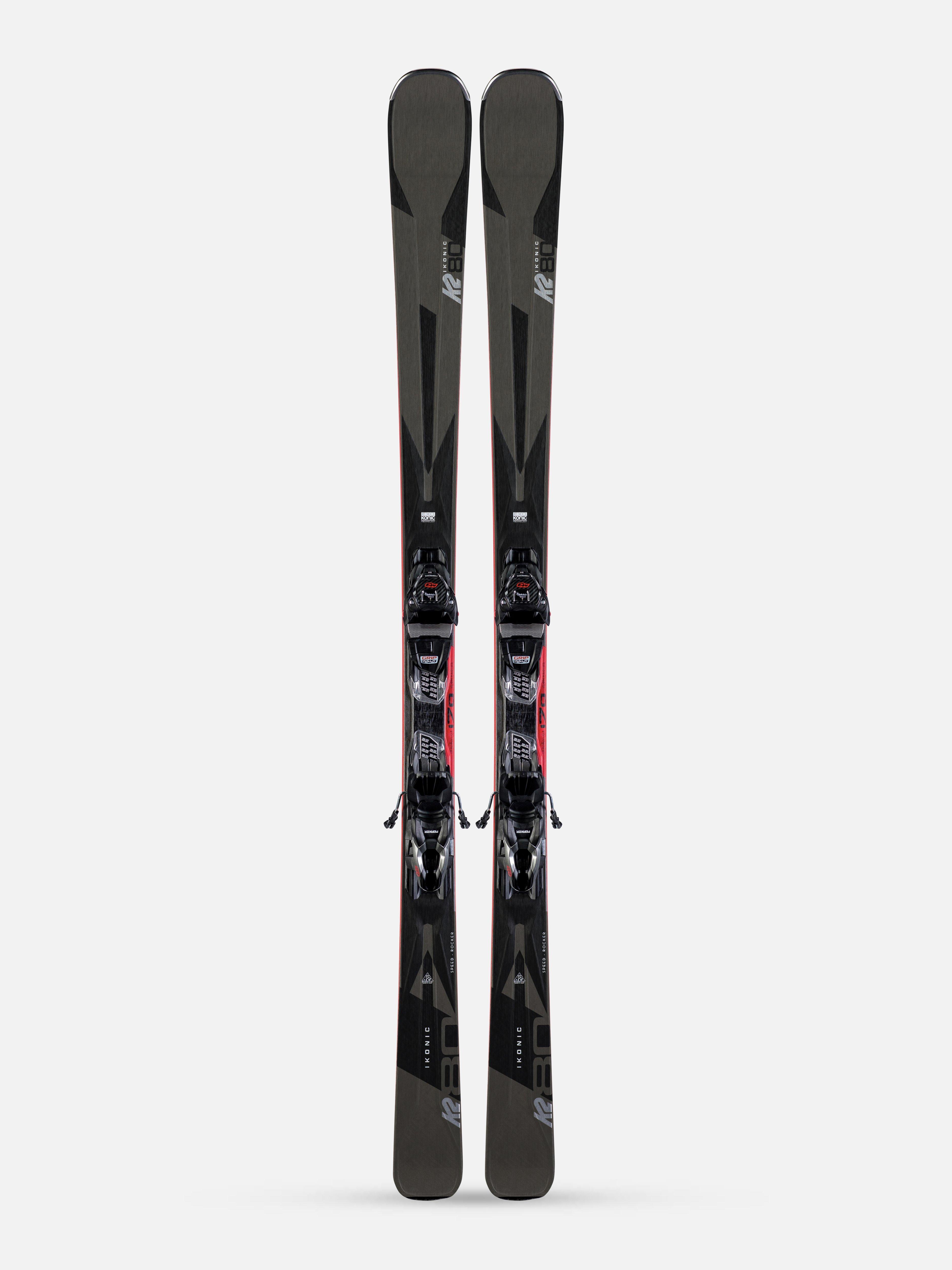 K2 Konic Carving Ski ohne Bindung 17M Radius Wood Core All Mountain//Terrain NEU