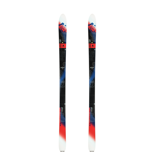 EAnnum 78 Skis Cross Country Backcountry Ski