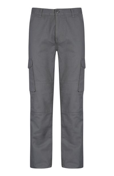 Grey Cargo Trouser