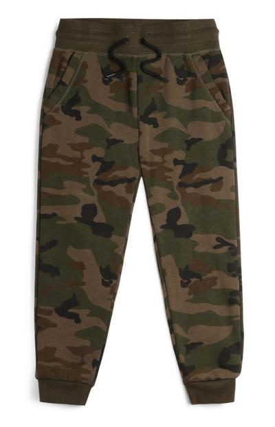 Younger Boy Camo Joggers