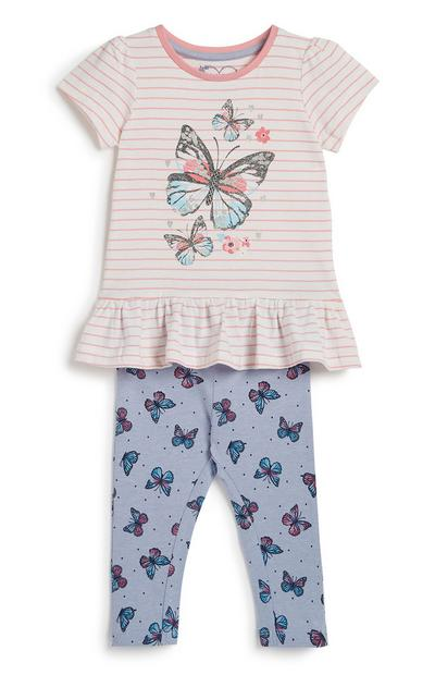Baby Girl 2Pc Outfit Set