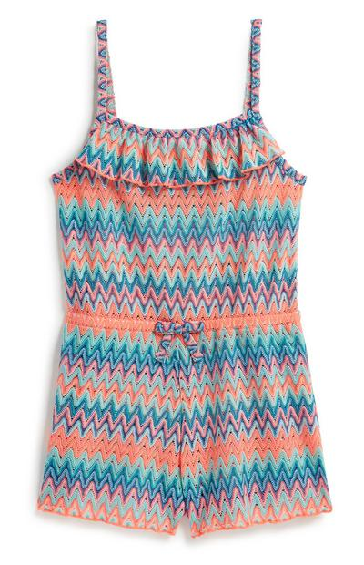 Older Girl Beach Playsuit