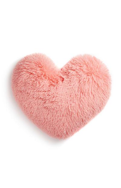 Pink Heart Cushion
