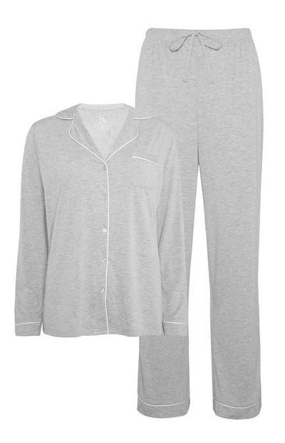 Grey Pyjama Set