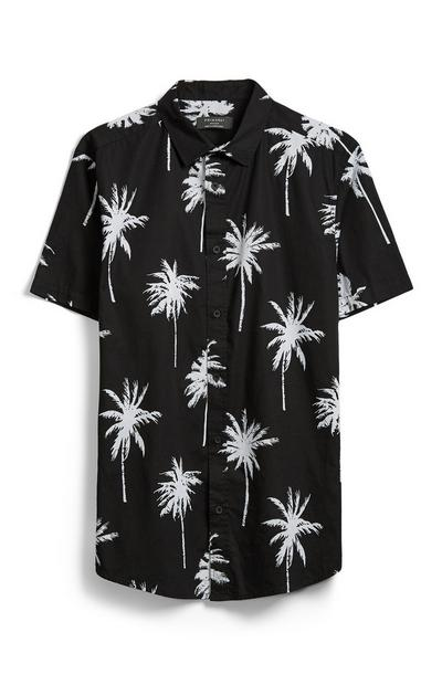 Black Palm Tree Shirt