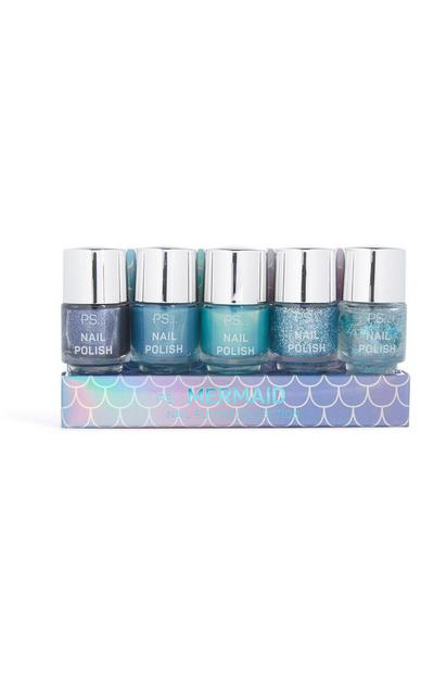 Mermaid 5Pk Nail Varnish