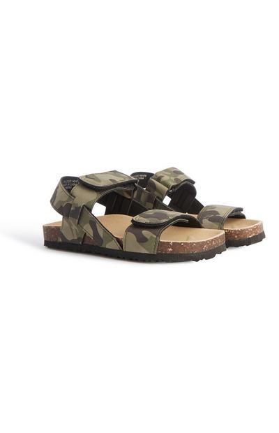 Sandalen mit Tarnmuster (kleine Jungen)