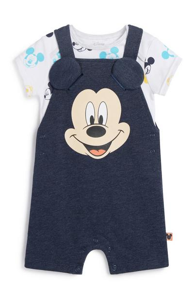 Mickey Mouse Dungaree Set