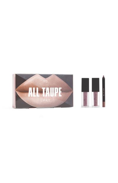 """Team Nude"" Lippen-Make-up-Set"