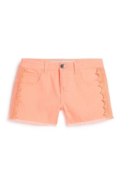 Shorts mit Häkeldetail (Teeny Girls)