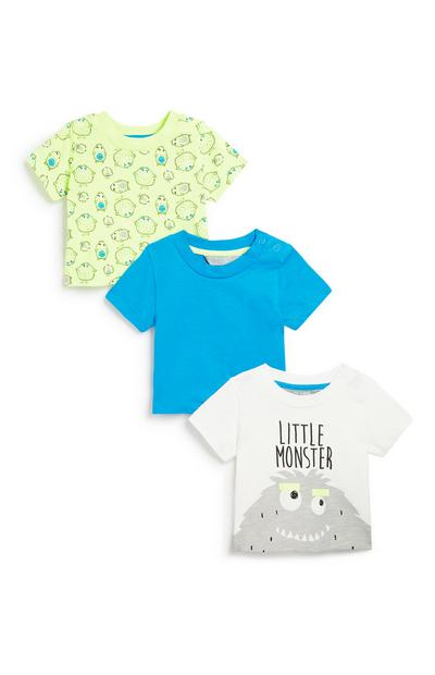 Baby Boy Short Sleeve 3Pk T-Shirt