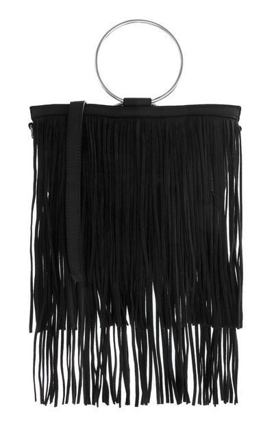 Black Tassle Bag