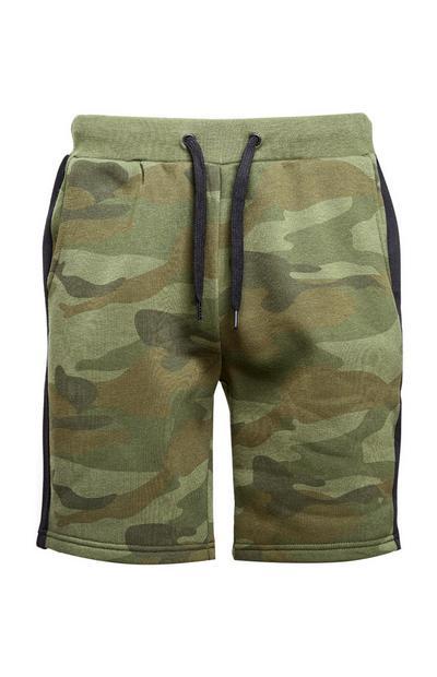 Shorts mit Tarnmuster