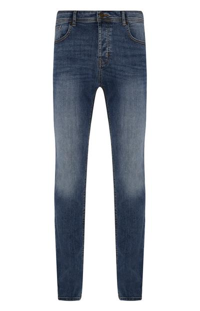Mid Blue Slim Stretch Jeans