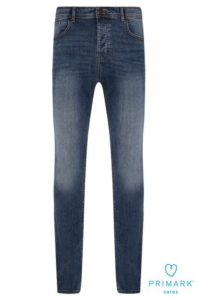 Dark Blue Slim Sustainable Cotton Jeans