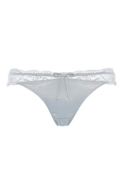Limited Edition Grey Thong