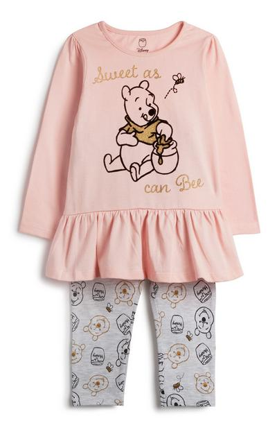 Baby Girl Winnie The Pooh Outfit 2Pc