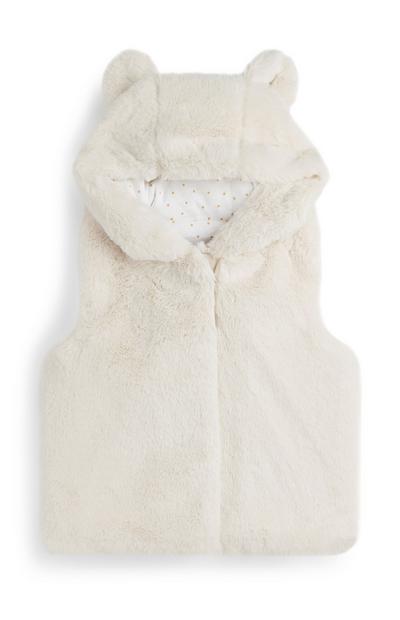 Baby Girl Fur Coat