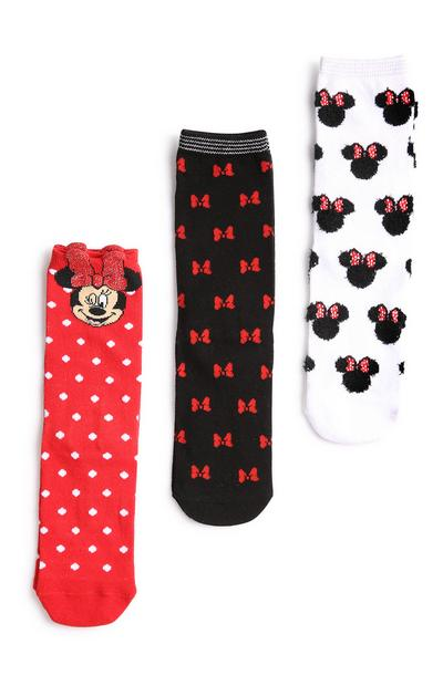 Minnie Mouse Socks 3Pk