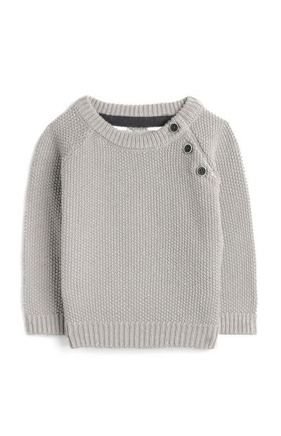 Baby Boy Grey Jumper