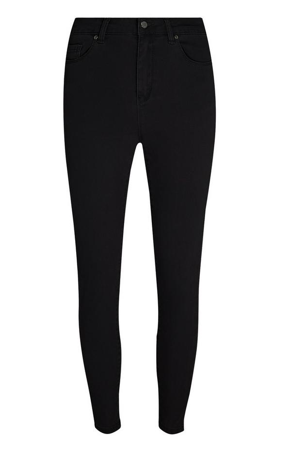 outlet store sale pretty nice better High Waisted Leather Effect Trousers | Jeans | Clothing ...