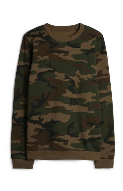 Older Boy Camo Sweatshirt