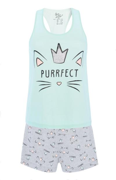 Purrfect Pyjama Set