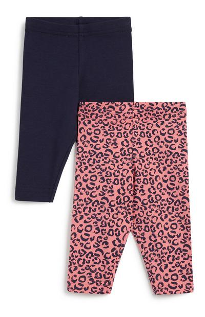 Baby Girl Legging 2Pk