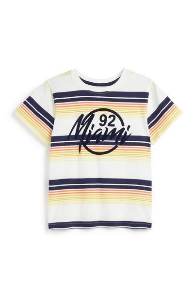Younger Boy Miami T-Shirt