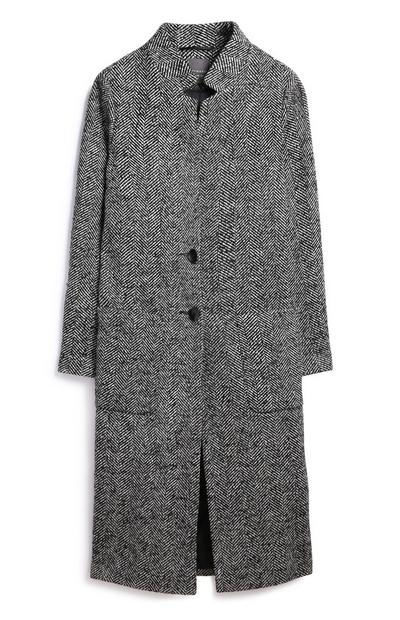 Monochrome Longline Coat