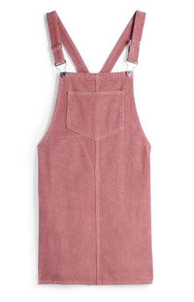 Blush Pinafore Dress