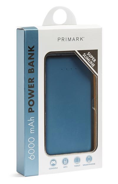 Blue Slimline Powerbank