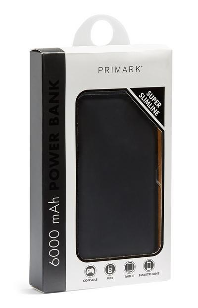 Black Slimline Powerbank