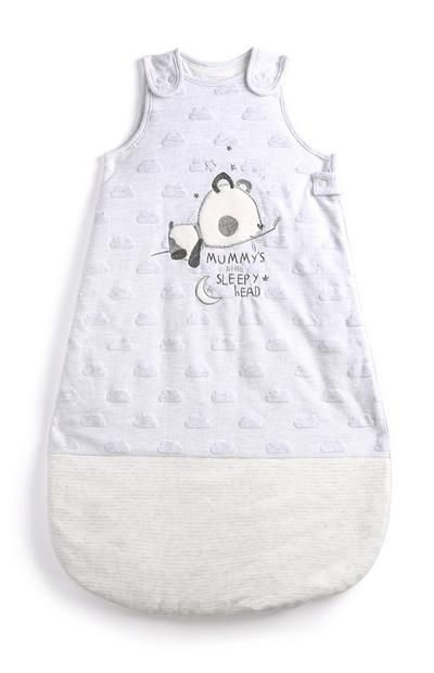 Newborn Grey Sleeping Bag