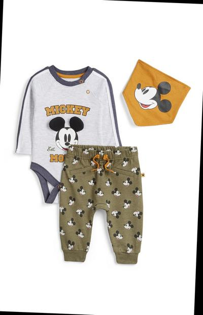 Newborn Mickey Mouse Outfit 3Pk