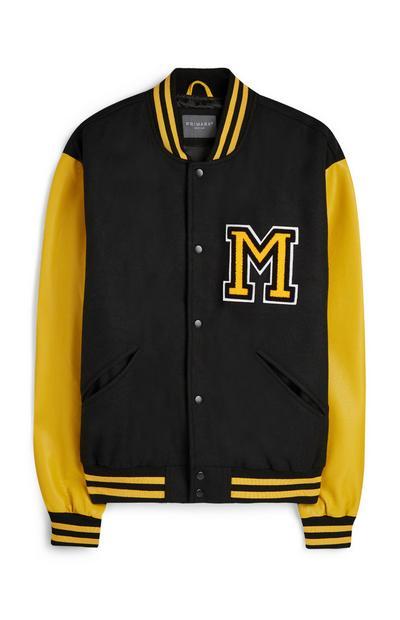 Yellow Varsity Jacket