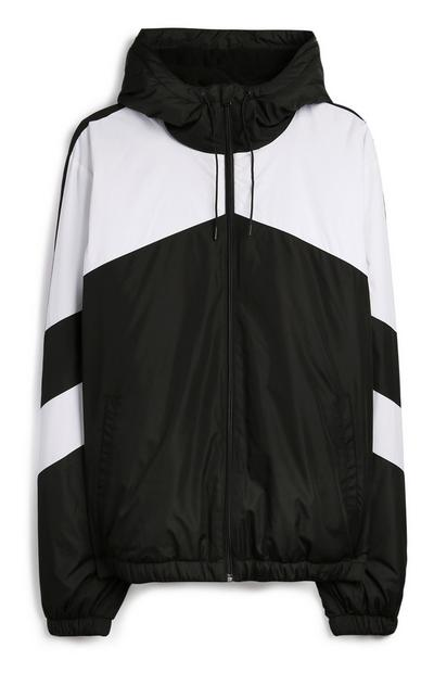 Grey Chevron Jacket