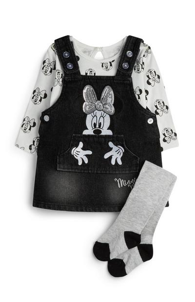 Minnie Mouse Outfit 3Pc