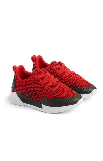 Baby Boy Red Trainers