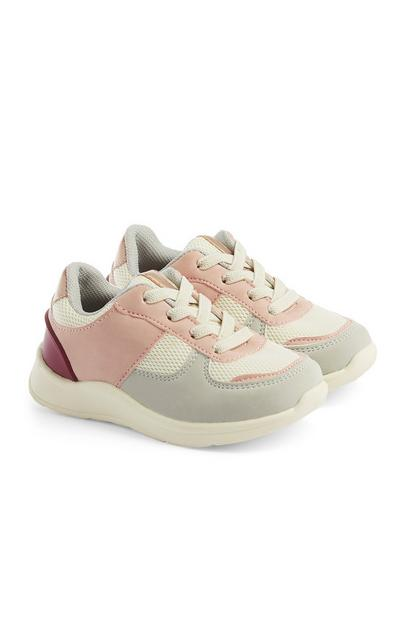 Baby Girl Colourblock Trainers