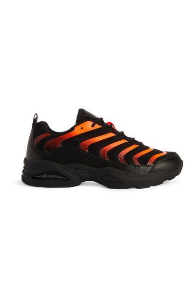 Black And Orange Wave Trainer