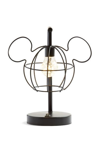 Black Mickey Mouse Standing Light